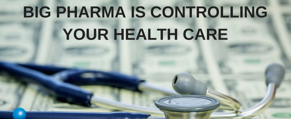 大部分人完全不知道藥廠掌控了我們