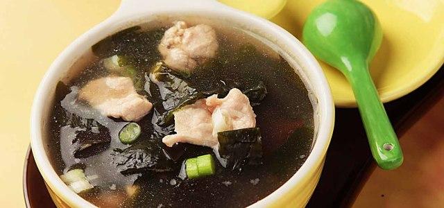 癌症康復的飲食調養:海藻海帶瘦肉湯