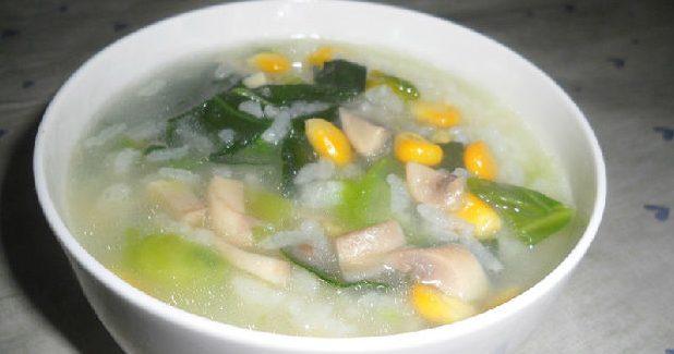 癌症康復的飲食調養:蘑菇玉米粥