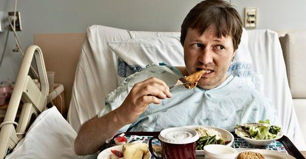 唯有吃東西才有能量戰勝癌症