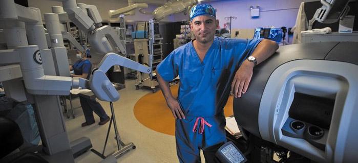 機械臂切除攝護腺/前列腺癌